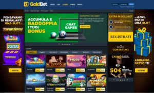 BONUS CASINÒ GOLDBET